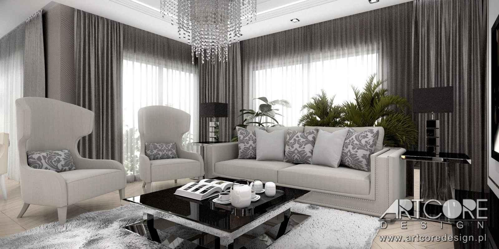 projektowanie-wnętrz-kraków-klasyczny-salon