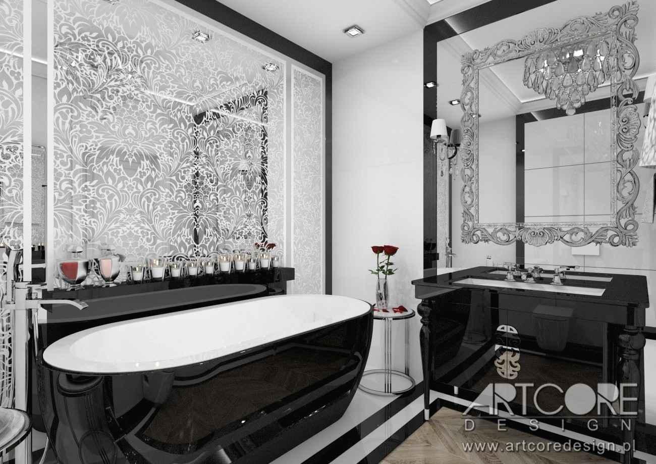 projekt wnętrza łazienki w krakowie