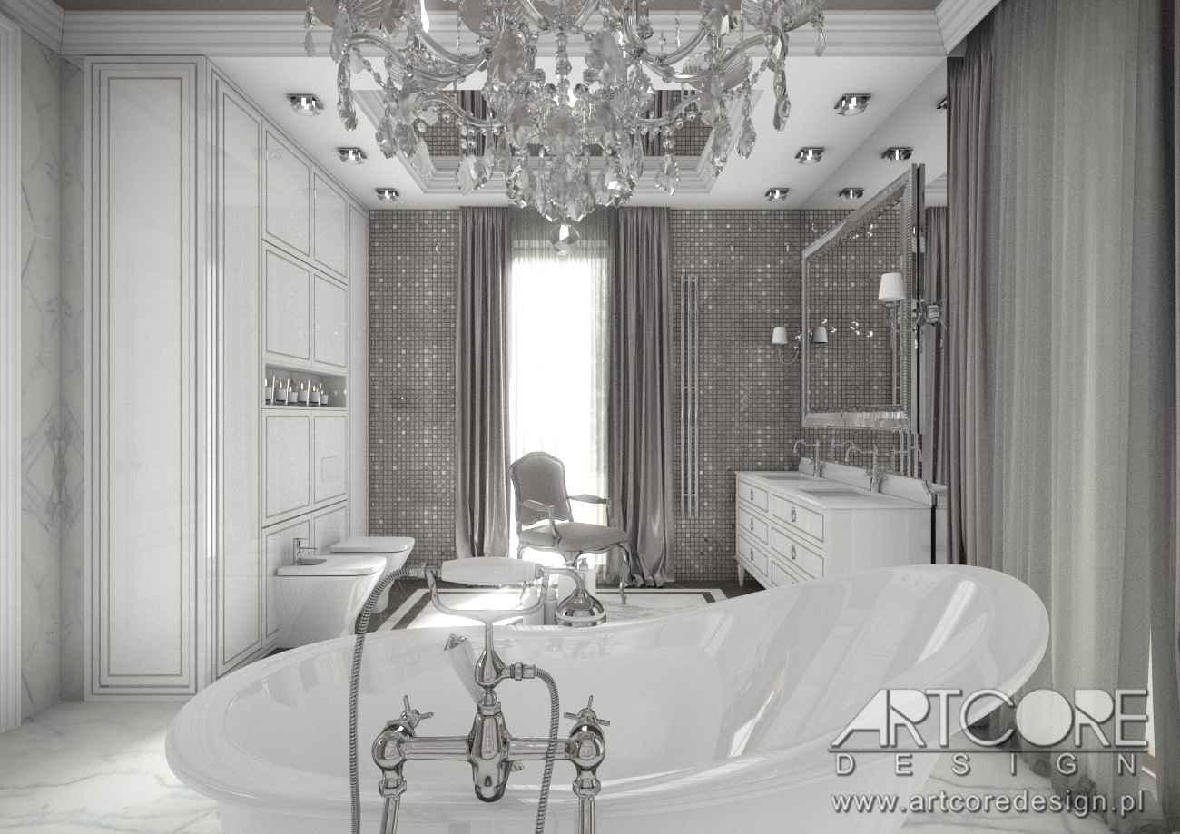 łazienka w krakowie projekt wnętrza